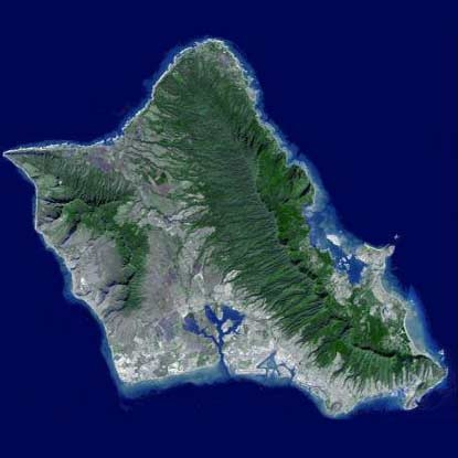 کوههای جزیره هاوایی کم کم حل میشوند