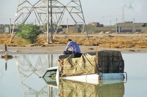 دشستان - استان بوشهر - سیل