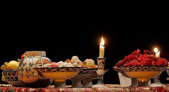 آداب و رسوم مردم آستان آذربایجانغربی در شب یلدا