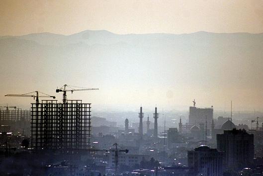 آلودگی هوا - شهر مشهد
