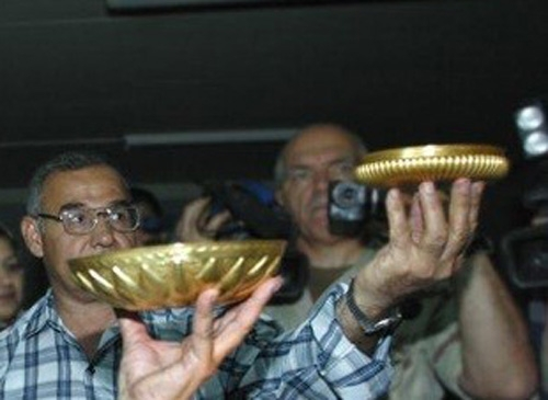 قاب صندوق شخصی صدام-عراق
