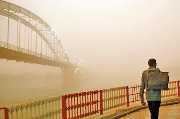 شهر اهواز - آلودگی هوا