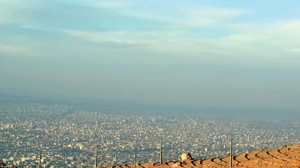 شهرتبریز - آلودگی هوا