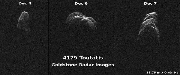 تصویر رصدخانه گلدستون از توتاتیس