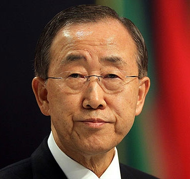بان کی مون در کنفرانس تغییرات اقلیمی