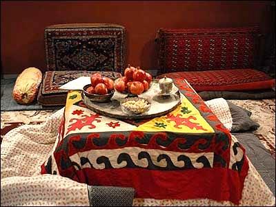 آشنایی با آداب و رسوم مردم بروجرد در شب یلدا