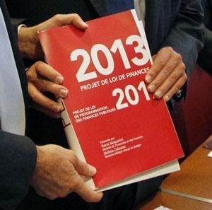 بودجه سال 2013 فرانسه تصویب شد