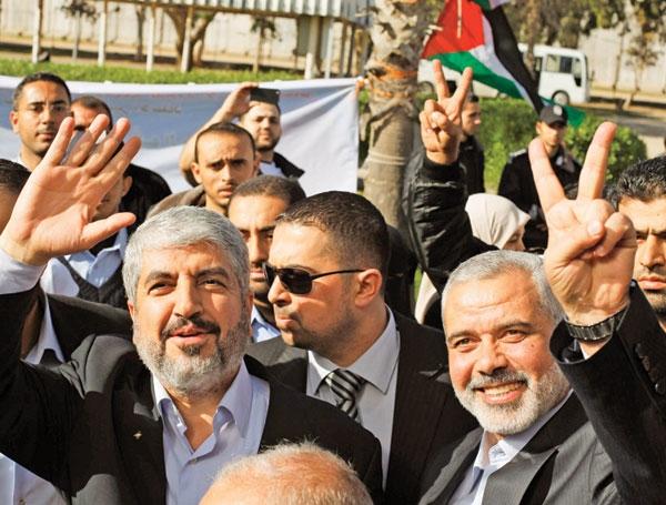 جشن سالگرد تأسیس و پیروزی حماس با حضور رهبران مقاومت