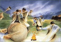مراسم سنتی مردم روستای طبر - خراسان شمالی