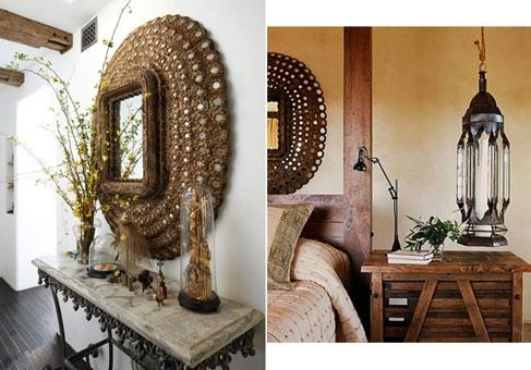 آشنایی با آینه  طرح طاووس