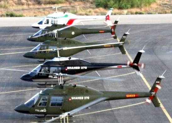 آشنایی با ۲ بالگرد مدل شاهد - ایران