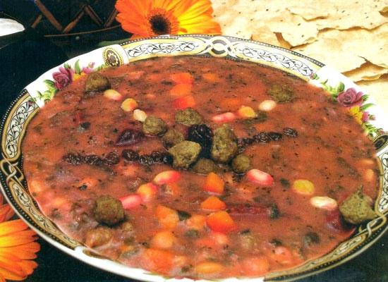 آشنایی با روش تهیه آش قلیه - غذای محلی گیلان