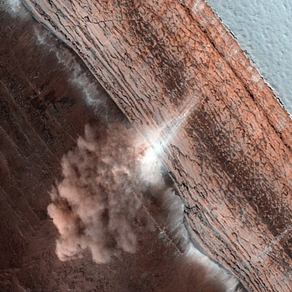 پدیده بهمن در مریخ