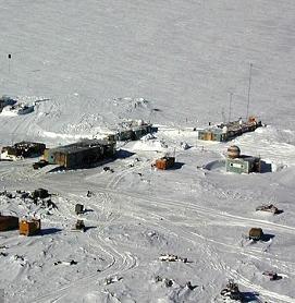 تیم اکتشافی روس در قطب جنوب