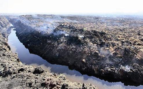 خشکسالی - دریاچه پریشان