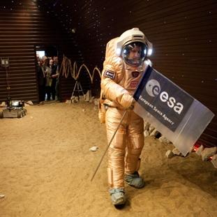 سفر شبیه سازی شده به مریخ