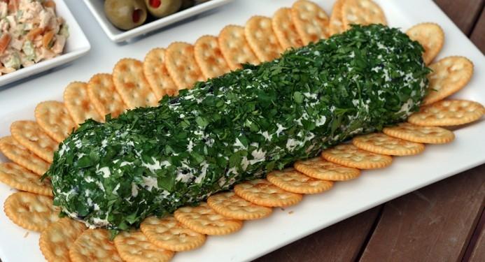 رولت پنیر و زیتون