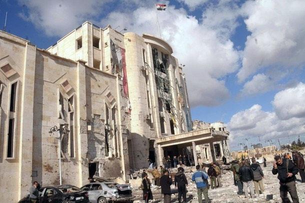 انفجارهای مهیب در حلب سوریه 200 کشته و زخمی بهجا گذاشت