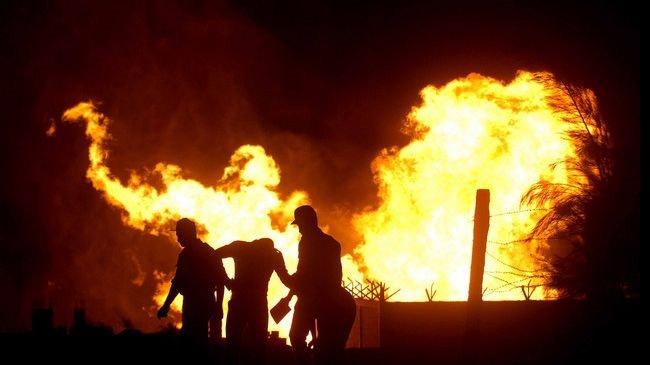 انفجاردر خط لوله گاز مصر