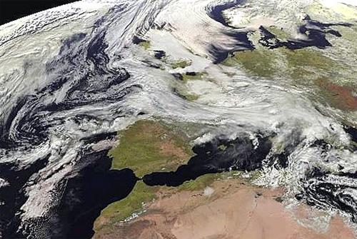 زمستانهای سخت در اروپا و آمریکا