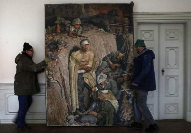 کشف کلکسیون نقاشیهای هیتلر