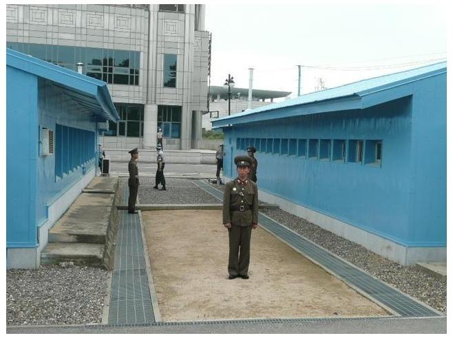 south-north korea gurds