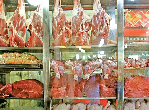 قیمت گوشت و مرغ پایین نیامد