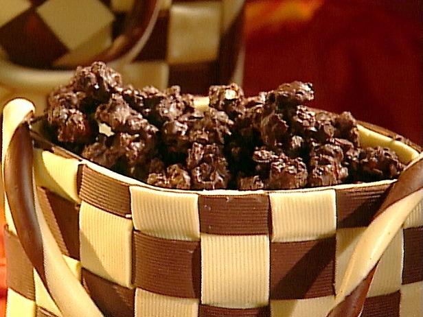 پاپ کورن شکلاتی