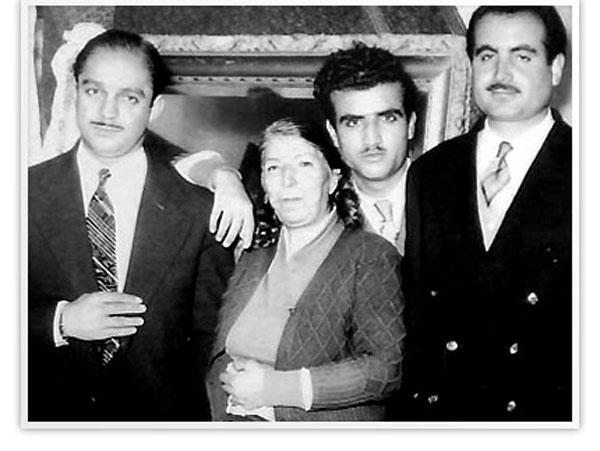 منوچهر همایونپور،پرویز یاحقی،بانو قمرالملوک وزیری،حسن کسایی