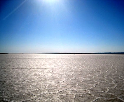 آشنایی با دریاچه نمک خور - اصفهان