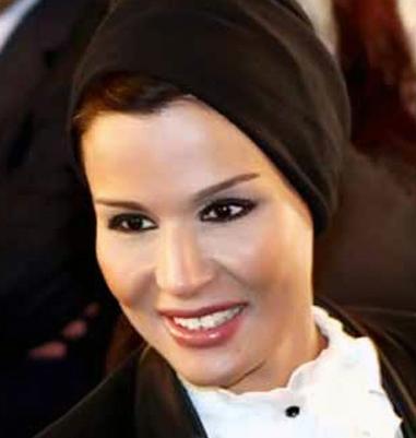 زن امیر قطر کاخ ریاستجمهوری تونس را خرید