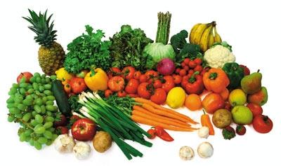 میوه و سبزیجات چربیسوز