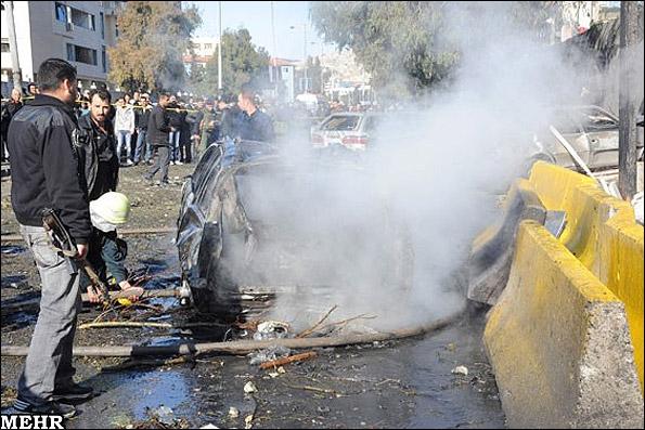 وقوع سه انفجار تروریستی در سوریه؛ 124 کشته و زخمی