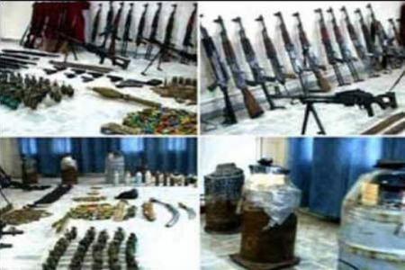 کشف سلاح اسرائیلی و عربستانی و قطری در سوریه