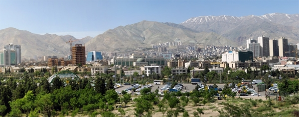 آشنایی با بوستان پردیسان - تهران
