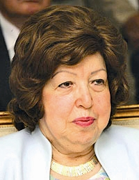 خانم نجاحالعطار معاون دوم بشار اسد