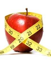 سیب - چاقی