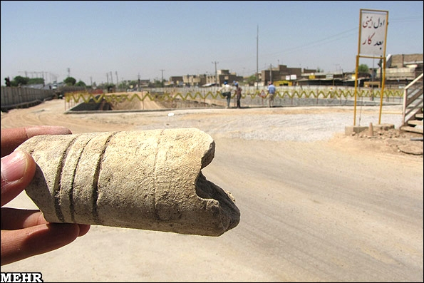 آشنایی با شهر باستانی هرمز اردشیر - خوزستان