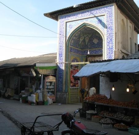 بازار قدیمی گرگان