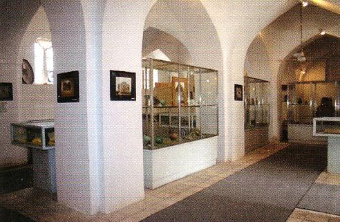 نمایی داخلی از داخل موزه
