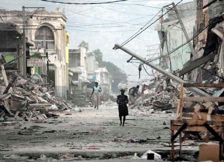 زلزله خفیف هائیتی مردم را در هراس فرو برد