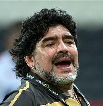 بیقراریهای مارادونا در قاب تصویر