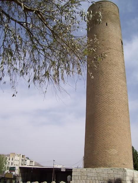 آشنایی با مناره آجری خرمآباد - لرستان