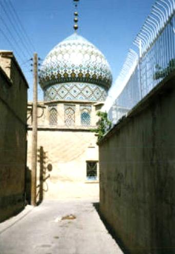 آشنایی با بقعه سیدالحرمین - فارس