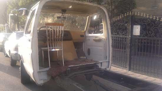صندلی معمولی به جای صندلی خودرو