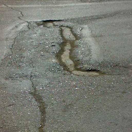 مایع پرکننده چالههای خیابان