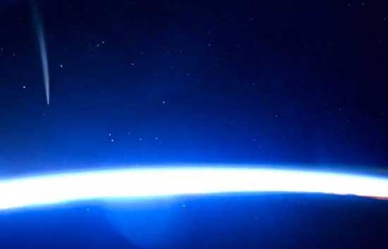 اروپای مرکزی و خاورمیانه را از فضا ببینید