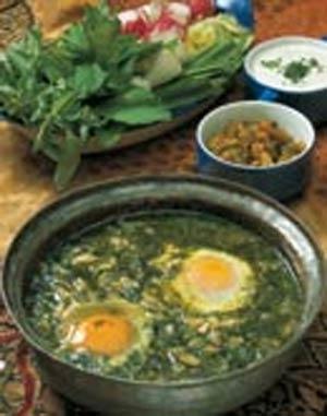 آشنایی با روش تهیه خورش باقلاقاتق - غذای محلی گیلان