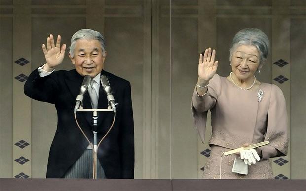 امپراطور و ملکه ژاپن