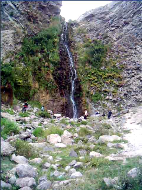 آشنایی با آبشار سردابه - اردبیل